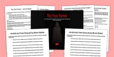 The Fear Factor Lesson Pack