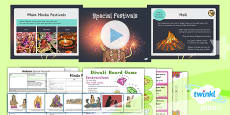 PlanIt - RE Year 3 - Hinduism Lesson 4: Special Festivals Lesson Pack
