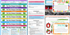 EYFS Bumper Planning Pack to Support Teaching on The Very Hungry Caterpillar
