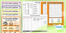 PlanIt Y6 Term 1B Bumper Spelling Pack