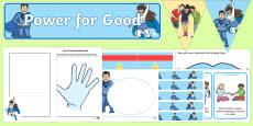 Top Ten KS1 Anti Bullying Power for Good  Activity Pack