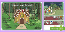 Hansel and Gretel Story Visual Aids