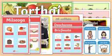 Food Display Pack Gaeilge