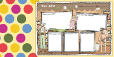 Story Review Writing Frame to Support Teaching on The BFG