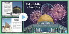 Eid al-Adha - Sacrifice PowerPoint