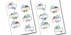 Editable Self Registration Labels (Fairies)