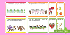 KS1 Addition Word Problem Challenge Cards