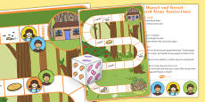 Hansel and Gretel Board Game