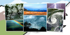 Weather Photo Clip Art Pack