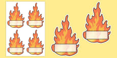 Flame Editable Self Registration Labels