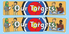 Our Targets Display Banner