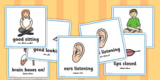 Good Listening Cards Arabic Translation