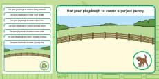 Playdough Mats to Support Teaching on Dear Zoo