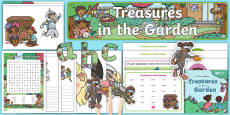 * NEW * Treasures in the Garden Story Sack Resource Pack