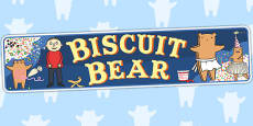 Display Banner to Support Teaching on Biscuit Bear