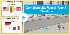 World War Two Complete the PowerPoint Activity