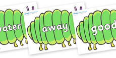 Next 200 Common Words on Fat Caterpillars to Support Teaching on The Very Hungry Caterpillar