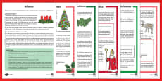 KS2 Christmas Differentiated Reading Comprehension  Activity Pack