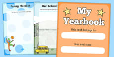 End Of Year Scrapbook