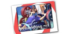 The Paralympics Powerlifting Display Photos