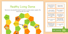 * NEW * Healthy Eating and Living Game