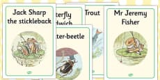 The Tale of Mr Jeremy Fisher Display Posters (Beatrix Potter)