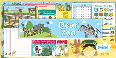 PlanIt Y1 Animals: to Support Teaching on Dear Zoo Additional Resources