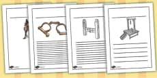 Crime and Punishment Writing Frames