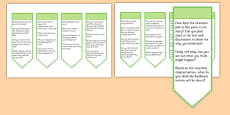 Guided Reading Curriculum Questions Bookmarks Year 2