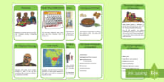 All About Kwanzaa Read It Information Cards