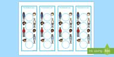 Ourselves Sticker Reward Bookmarks (15mm)
