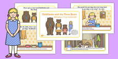 Goldilocks and the Three Bears Story Polish Translation
