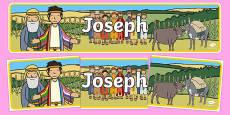 Joseph Display Banner