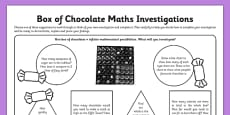 Box of Chocolate Maths