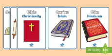 Religious Texts Picture Cards