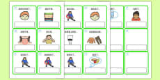 EAL Emergencies Editable Cards with English Mandarin Chinese