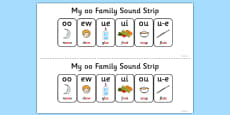 My OO Sound Family Strip
