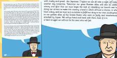 Churchill's VE Day Speech Card