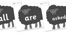 Tricky Words on Baa Baa Black Sheep