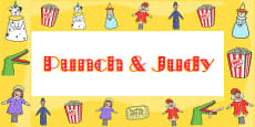 Punch and Judy Display Borders