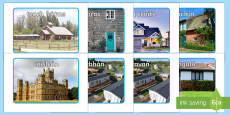 Houses and Homes Display Photos Gaeilge