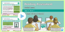 Year 4 Term 1 Fiction Reading Assessment Guided Lesson Teaching Pack