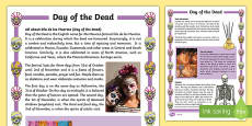 Day of the Dead Differentiated Fact File