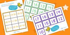 Subtraction Tic Tac Toe Game To Twenty