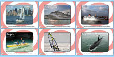 Sea Boats Transport Display Photos