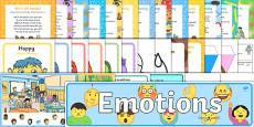 Childminder My Emotions Resource Pack