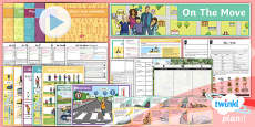 PlanIt - French Year 4 - On the Move Unit Pack