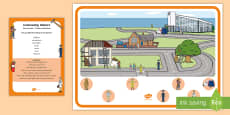 * NEW * Community Helpers Can You Find...? Poster and Prompt Card Pack