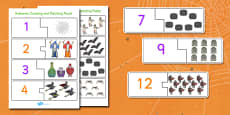 Halloween Counting Puzzle