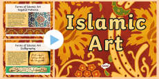 Islamic Art Patterns PowerPoint